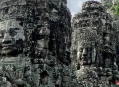 Voyages : Asie Visage du temple de Bayon