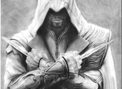 Art - Pencil Ezio Auditore