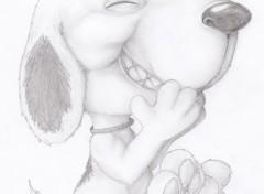 Art - Crayon Snoopy ;D