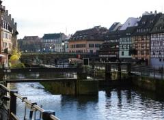 Constructions and architecture la Petite France Strasbourg