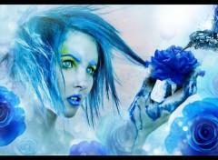 Art - Numérique Blue Colibri