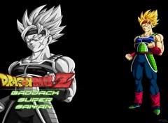 Manga Fond d'écran de Baddack surper super saiyan