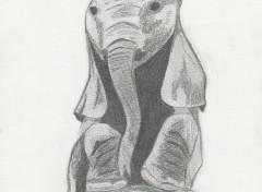 Art - Pencil Elephanteau