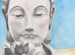 Art - Crayon Bouddha