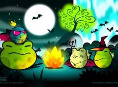Digital Art Mocos Adventures - Kakoween
