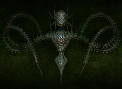 Digital Art Bio Mechanoid