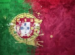 Art - Numérique Drapeau Portugal