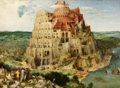 Art - Painting Tour de Babel