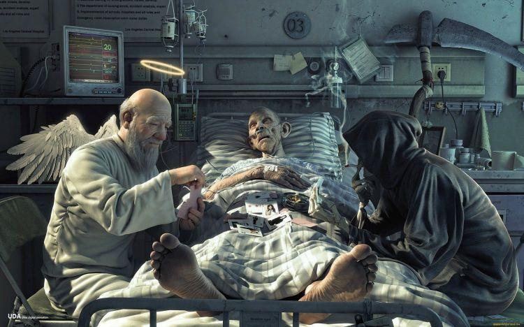 Fonds d'écran Fantasy et Science Fiction Mort Wallpaper N°321022