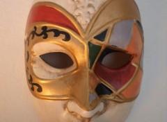 Art - Peinture Masque de venise