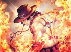 Manga Hiken no Ace! dead or alive