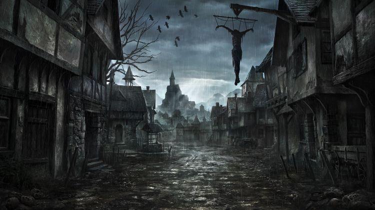 Fonds d'écran Fantasy et Science Fiction Mort Wallpaper N°322041