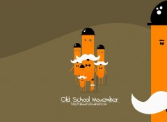 Digital Art Old School Movember