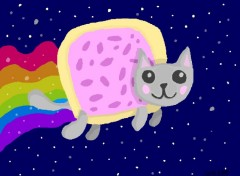Art - Numérique Super Nyan Cat : we must destroy him !