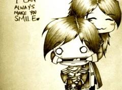 Art - Pencil smile