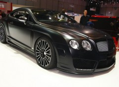 Voitures Bentley Black Mat by Mansory Geneve 2009