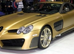 Voitures Mercedes SLR Or by Mansory