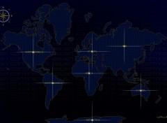 Art - Numérique Seven continents