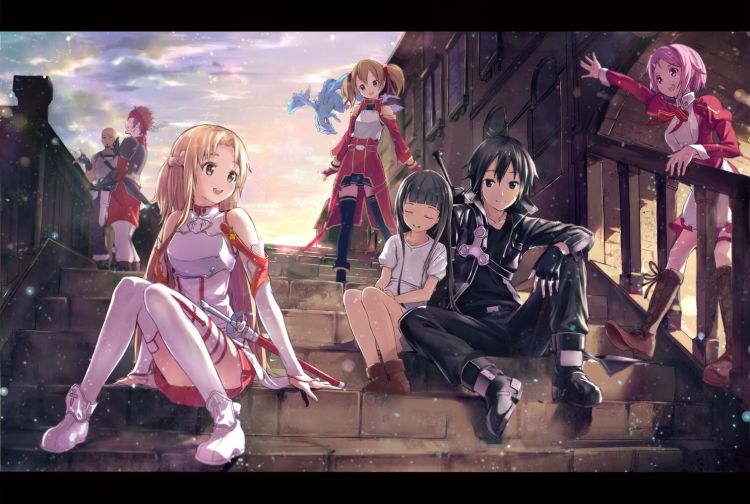 Fonds d'écran Manga Sword Art Online Wallpaper N°322871