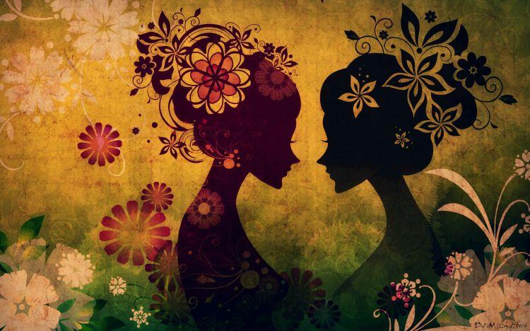 Wallpapers Digital Art Women - Femininity The Twins