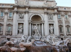 Voyages : Europe La fontaine de trevi a Rome