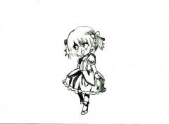 Art - Crayon chibi madoka