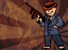 Jeux Vidéo pipboy gangster