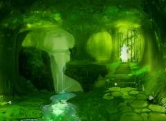 Digital Art Spiritual Forest III