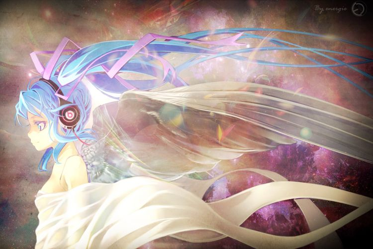 Wallpapers Manga Vocalo�ds Hatsune Miku angel