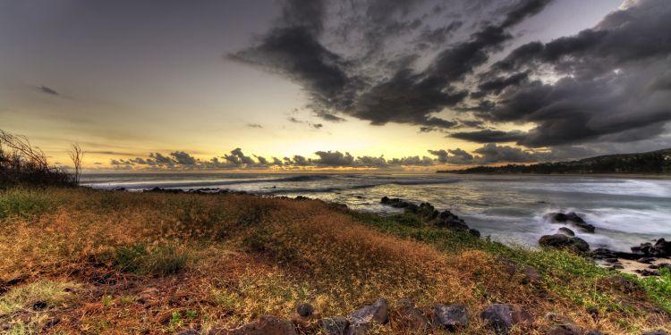 Fonds d'écran Nature Couchers et levers de Soleil Coucher de soleil - Réunion