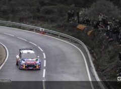 Sports - Leisures Miko Hirvonen au Rallye WRC de Catalogne