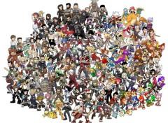 Art - Numérique Tout les héros de jeux video