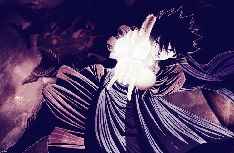 Fonds d'écran Manga Fairy Tail Zeref