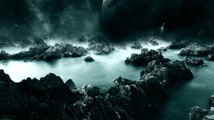 Wallpapers Digital Art Space - Universe Tomorrow