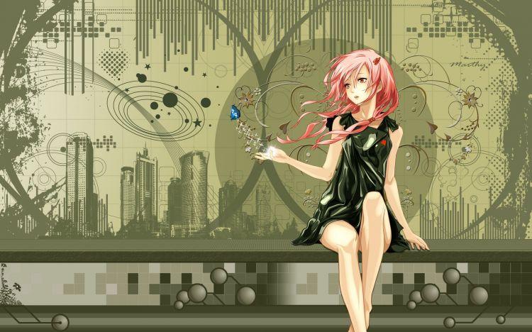 Fonds d'écran Manga Guilty Crown  Guilty crown inori yuzuhira