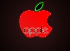 Computers appel une vrais pomme à manger