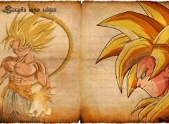 Manga Goku SSJ5 DB AF