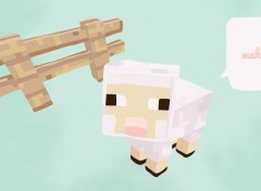 Video Games Meh - agneau Minecraft