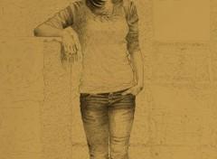 Art - Crayon Standing model iv