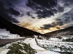 Nature Passage des monts d'hiver