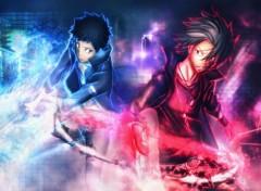 Manga Yamamoto and Gokudera (cambio forma)