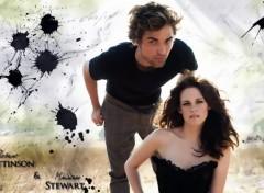 Wallpapers Celebrities Men Robert Pattinson & Kristen Stewart