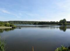 Nature Panorama du lac de bambois belgique