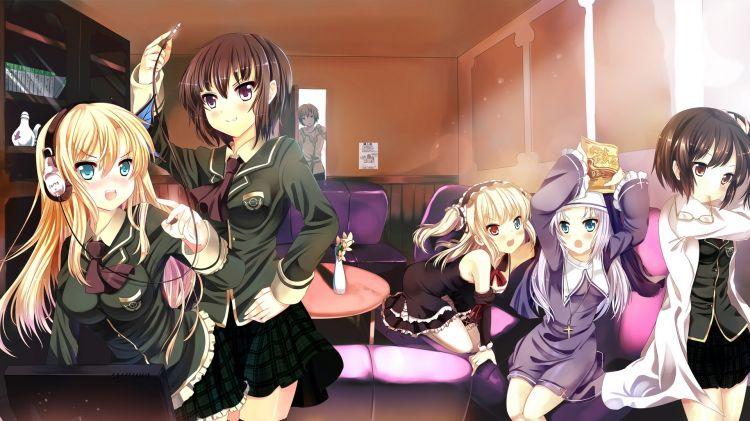 Fonds d'écran Manga Boku wa Tomodachi ga Sukunai Le club des voisins !