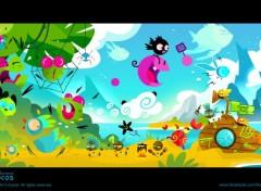 Digital Art Mocos Adventures - bienvenue sur l'île de Mocos