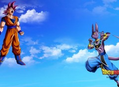 Manga Fond d'écran Dragon ball z battle of gods