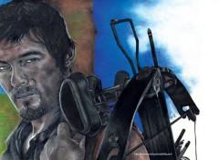 Art - Crayon Portrait de Daryl