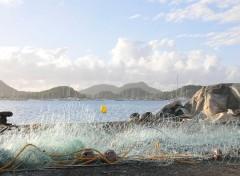 Voyages : Amérique du nord Martinique aurore sur la baie du Marin