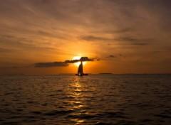 Trips : North America The setting sun