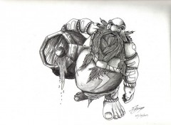 Art - Pencil Gragas